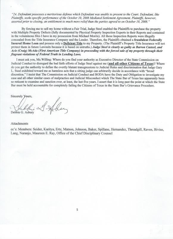 Christine E Mckeeman Texas Board Of Disciplinary Appeals