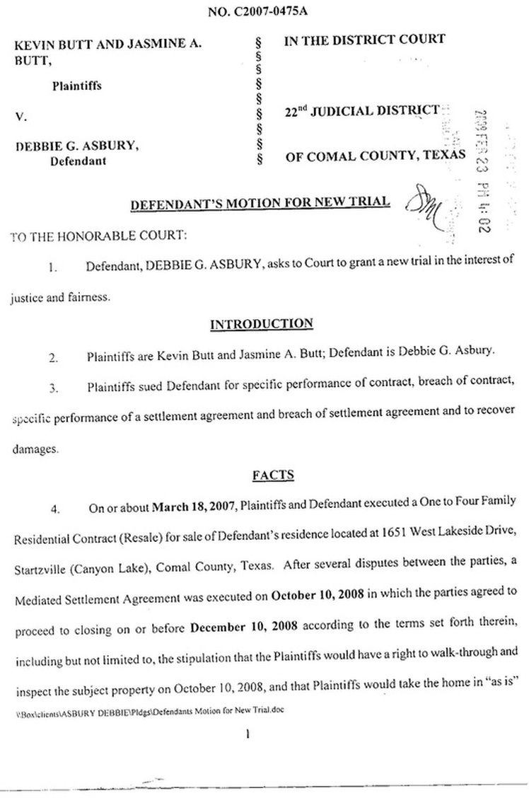 Factsmotion texas board of disciplinary appeals prohibits click here to see page 2 of the defendants motion for new trial platinumwayz